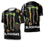Monster Energy Logo For Lovers Chicago Blackhawks