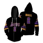 02 Lonzo Ball Lakers Jersey Inspired Style