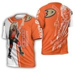 Anaheim Ducks And Zombie For Fan