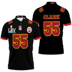 55 Frank Clark Kannas City 1 Jersey Inspired Style