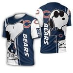 Chicago Bears Snoopy Lover 3D Printed