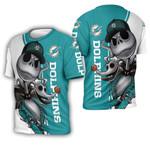 Miami Dolphins Jack Skellington And Zero
