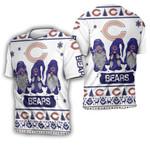 Christmas Gnomes Chicago Bears Ugly Sweatshirt Christmas 3D