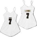 San Francisco 49Ers Colin Kaepernick White 100Th Season Golden Edition Jersey Inspired Style