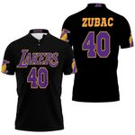 40 Ivica Zubac Lakers Jersey Inspired Style