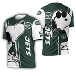 New York Jets snoopy lover 3d printed