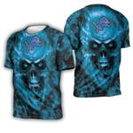 Detroit Lions Nfl Fan Skull