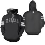 Los Angeles Angels Black 2019 Jersey Inspired Style