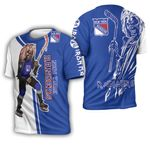 New York Rangers And Zombie For Fan