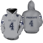 04 Dak Prescott Cowboys Jersey Inspired Style
