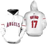 Shohei Ohtani Los Angeles Angels White Jersey Inspired Style