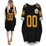 Pittsburgh Steelers Personalized Custom Color Rush Jersey Inspired Style