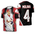 Yadier Molina St Louis Cardinals Best Players Busch Stadium Background