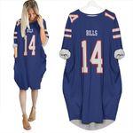 Buffalo Bill Stefon Diggs 14 2020 Nfl Blue Jersey Inspired Style