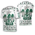 Christmas Gnomes Dallas Stars Ugly Sweatshirt Christmas 3D