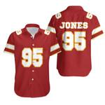 95 Chris Jones Kannas City Jersey Inspired Style
