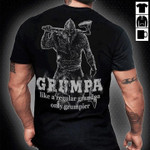 Grumpa viking like regular grandpa only grumpier shirt Tshirt Hoodie Sweater