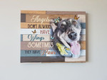 Husky Angels Dont Always Have Wings Sometimes They Have Paws Animals Poster poster canvas