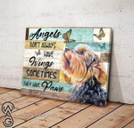 Yorkshire Dog Angels dont always have wings sometimes they have paws canvas Animal Poster poster canvas