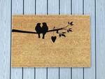Love Couple Birds Animal Valentines Doormat Doormat