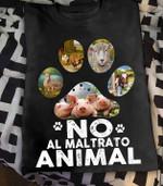 No al maltrato animal pig t-shirt Tshirt Hoodie Sweater
