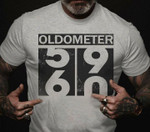 Oldometer 59 turning 60 funny 60th birthday gifts t shirt hoodie sweater