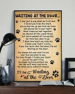 Waiting in the door poem ill be waiting at the door birthday gift home decor