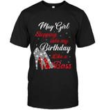 May Girl Stepping Into My Birthday Like A Boss Glittering High Heel