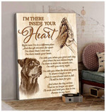 Inside Your Heart Rottweiler Wall Art Waiting At The Door Golden Retriever Wall Art birthday gift home decor