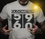 Oldometer 59 to 60 birthday gift family gift t shirt