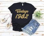 Vintage 1982 birthday gift shirt Tshirt Hoodie Sweater