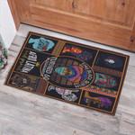 Black Queen Turned 60 In Black Girl 60th Birthday Doormat