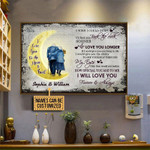 I Wish I Could Turn Back The Clock Personalized Old Couple Poster Canvas Gift For Family Old Couple With Custom Name Poster
