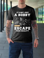 Guitar Its Not Just A Hobby Its Me Escape From Reality T Shirt Gift For Guitar Fans Tshirt
