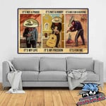 Mexican Musician It's not a phase it's my life it's not a hobby it's my passion it's not everyone it's for me poster canvas poster canvas
