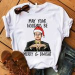 May Your Holidays Be Merry And Drwight Dwight Schrute Christmas The Office Fan