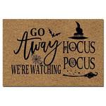 Go Away We'Re Watching Hocus Pocus Halloween Doormat Doormat