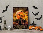 Salem Sanctuary For Wayward Cat Ferals and Familiars Welcome Halloween poster poster canvas