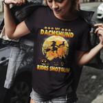 My Dachshund Rides Shotgun Halloween Night