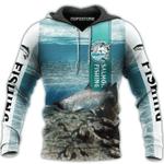 Fishing 3D All Over Printed Shirt VV1512-02