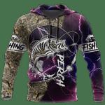 Fishing 3D All Over Printed Shirt BV3112-03