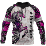 Love Horse 3D All Over Printed Shirt BV0201-02