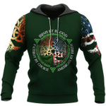 Irish Blood American Birth Patriot By Choice 3D All Over Printed Shirts MT0402-15