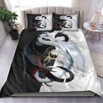 Black & White Dragon Bedding Set MT0602-12
