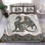 Loving Dragon Mandala Quilt Bedding Set MT0602-15