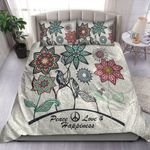 Peace Love And Happiness Bedding Set MT0602-23