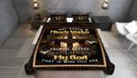 Beautiful Jesus Cross Quilt Bed Set Block Of Gear™ HH0502-02