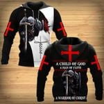 A Child of God a man of Faith a warrior of Christ Knight Jesus MT0502-11