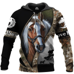 Love Horse 3D All Over Printed Shirts MT1002-02