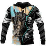 Beautiful Horse 3D All Over Printed Shirt MT1002-03